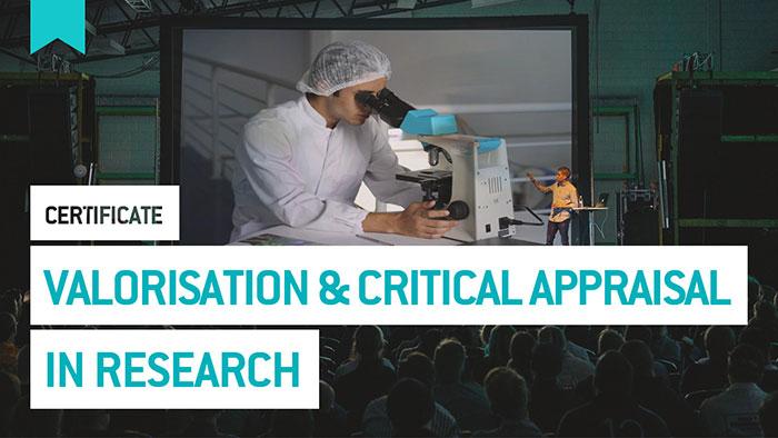 Eu2P Certificate: Valorisation and critical appraisal in research