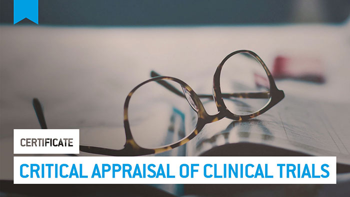 Eu2P Certificate: Critical appraisal of clinical trials: evidence-based medicine and its uncertainties