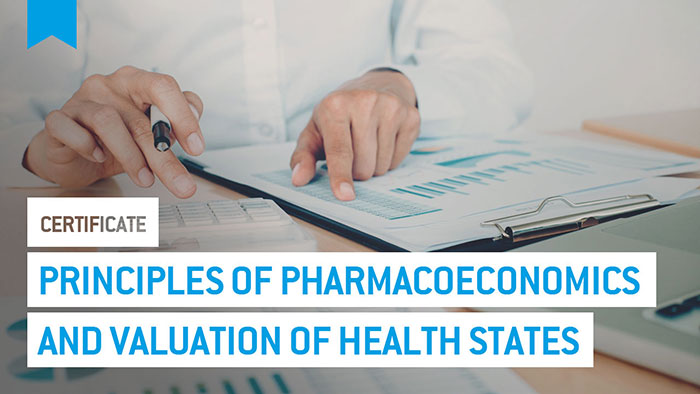 Eu2P Certificate: Principles of pharmacoeconomics and valuation of health states