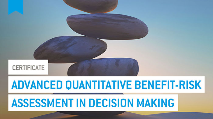 Eu2P Certificate: Advanced quantitative benefit-risk assessment methods in decision making on medicines