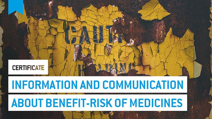 Eu2P Certificate: Information and communication about benefit-risk of medicines. Basic principles.