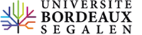 Logotype of Université Bordeaux Segalen