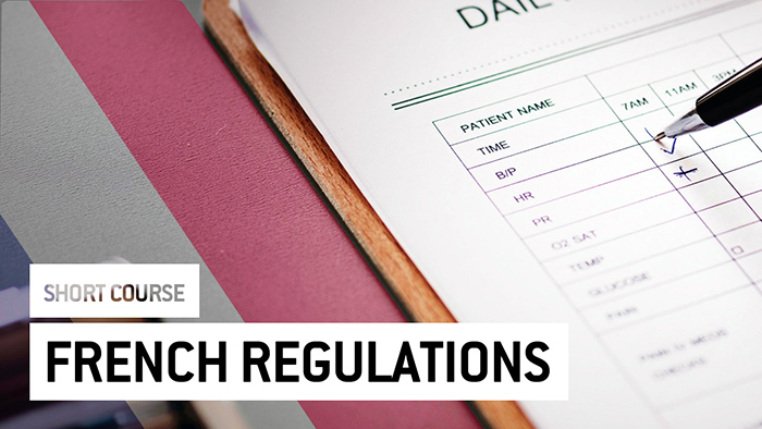 Eu2P Short Course: French Regulations