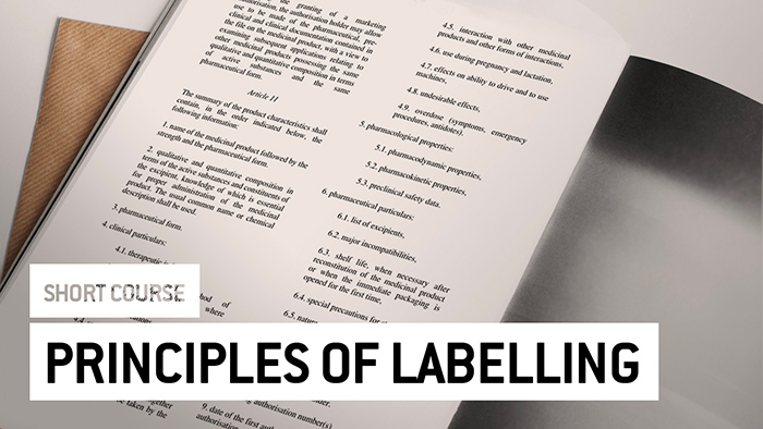 Eu2P Short Course: Principles of labelling and Summary of Product Characteristics (SmPC)