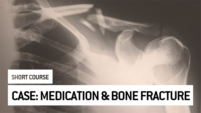 Eu2P Short Course: Bone fracture associated with common medication - an example of the Public Health impact estimation