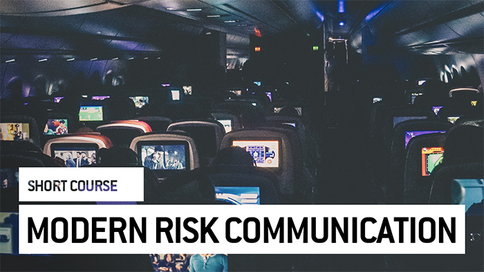 Eu2P Short Course: Concept of risk communication throughout modern time