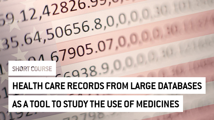 Eu2P Short Course: Health care records from large databases as a tool to study the use of medicines