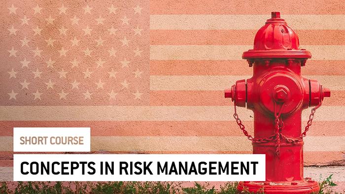 Eu2P Short Course: Concepts in Risk Management