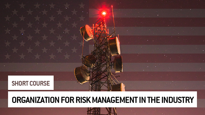 Eu2P Short Course: Organization for risk management in the industry